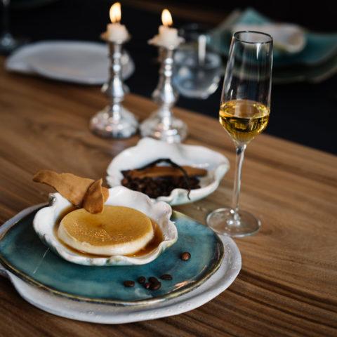 Dessert herfstmenu huiskamerdiner Laura's Sabor Utrecht_Zeist