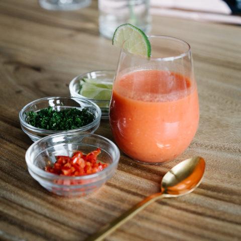 Laura's Sabor watermeloengazpacho